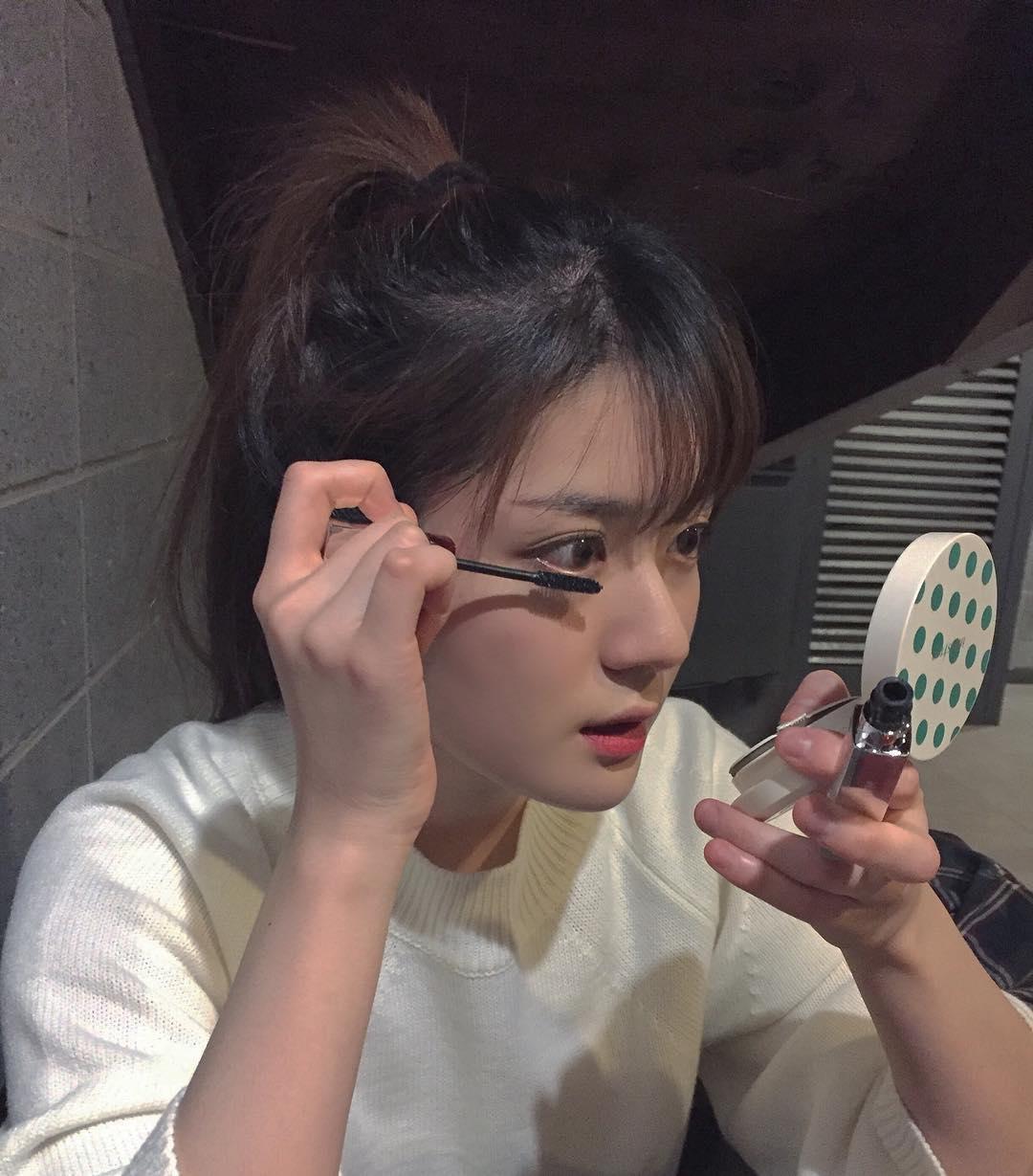 Cô bạn Hàn Quốc này mà sang Việt Nam, kiểu gì bạn cũng nhận nhầm là Tú Linh M.U đấy - Ảnh 5.