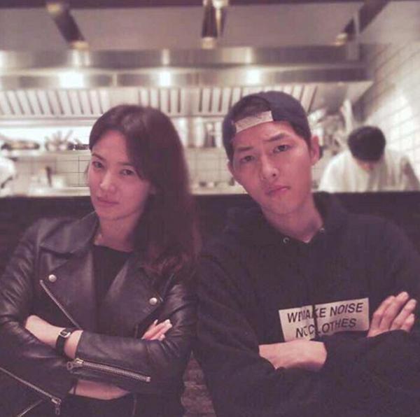Song Joong Ki và Song Hye Kyo: Có duyên đến nỗi quá nhiều lần tình cờ đụng độ nhau - Ảnh 4.