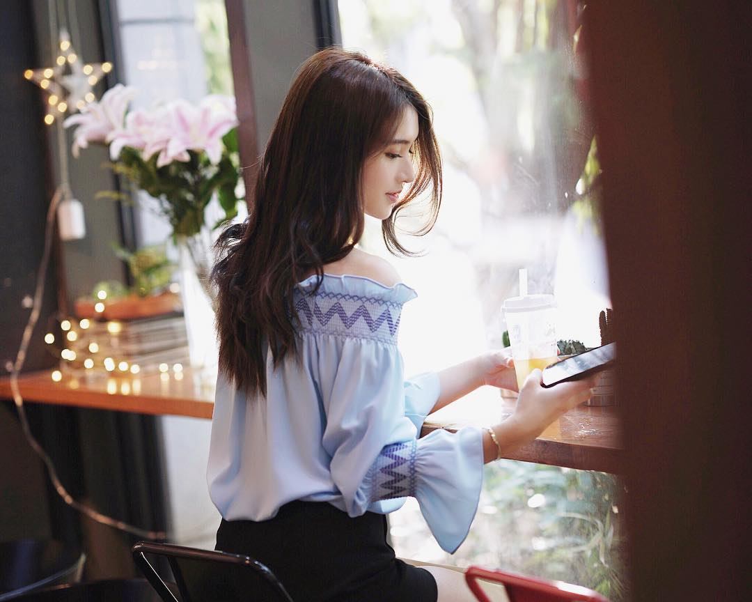 Cô bạn Đài Loan gây bão vì góc nghiêng thần thánh đẹp đến nao lòng - Ảnh 10.