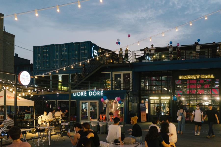 Địa điểm sống ảo cực chất ở Seoul - Common Ground
