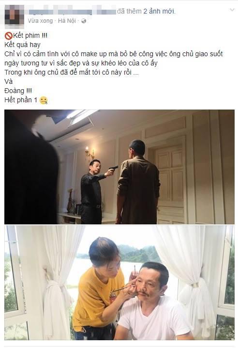 Lộ cảnh phim cuối cùng của Người phán xử: Phan Quân bắn Lương Bổng? - Ảnh 1.
