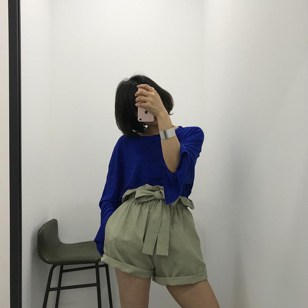 Ngay cả khi không thích quần vải, các cô nàng cũng sẽ đổ đứ đừ trước kiểu quần thắt nơ xinh xắn này - Ảnh 17.