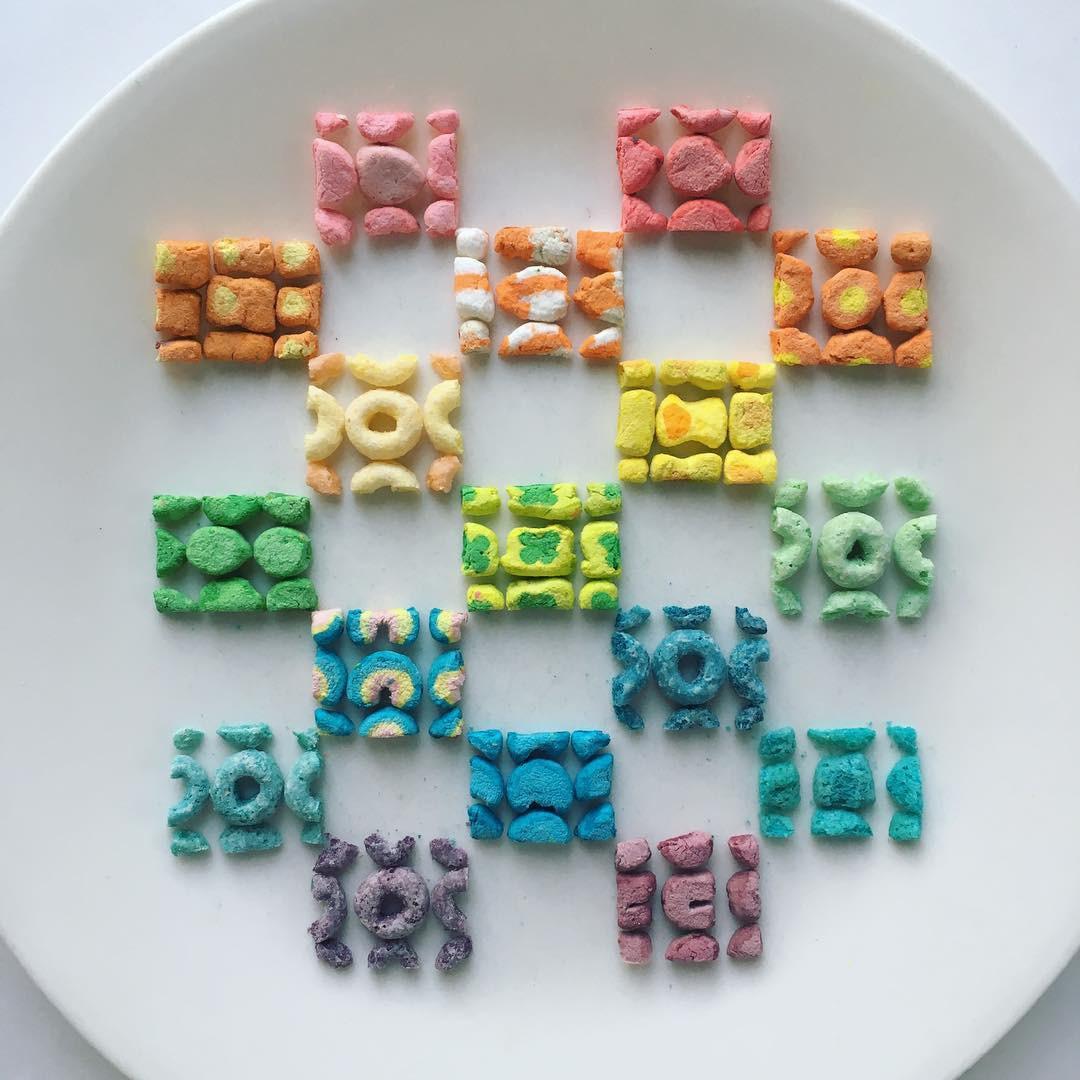 Không thể rời mắt trước 19 tác phẩm đồ ăn được xếp hình đẹp cẩn thận - Ảnh 29.