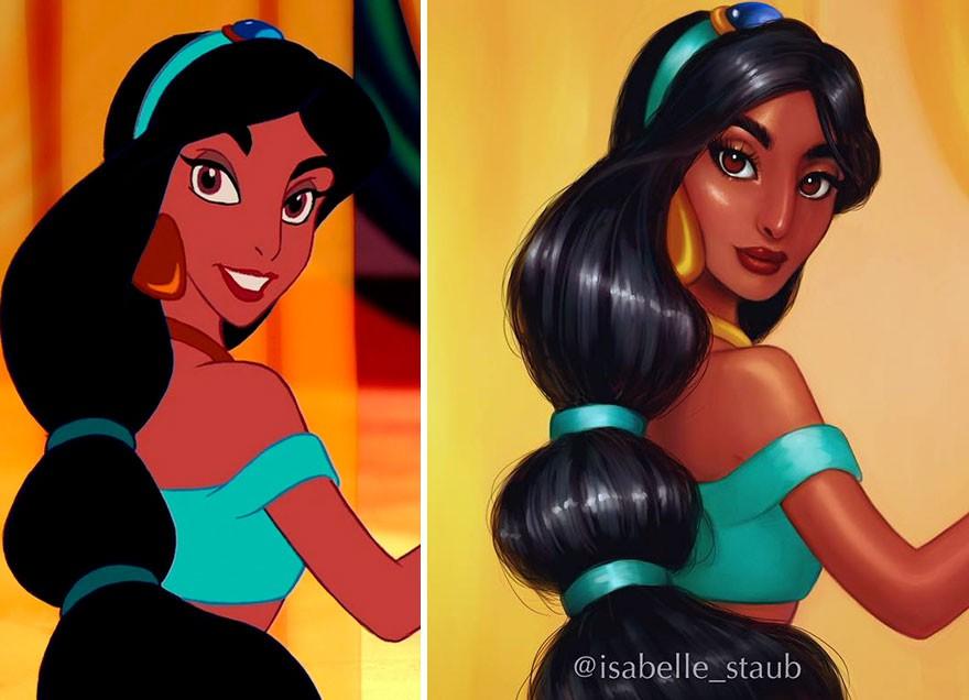 Chiêm ngưỡng nhan sắc lồng lộn của những nàng công chúa Disney sau khi đi phẫu thuật thẩm mỹ - Ảnh 29.