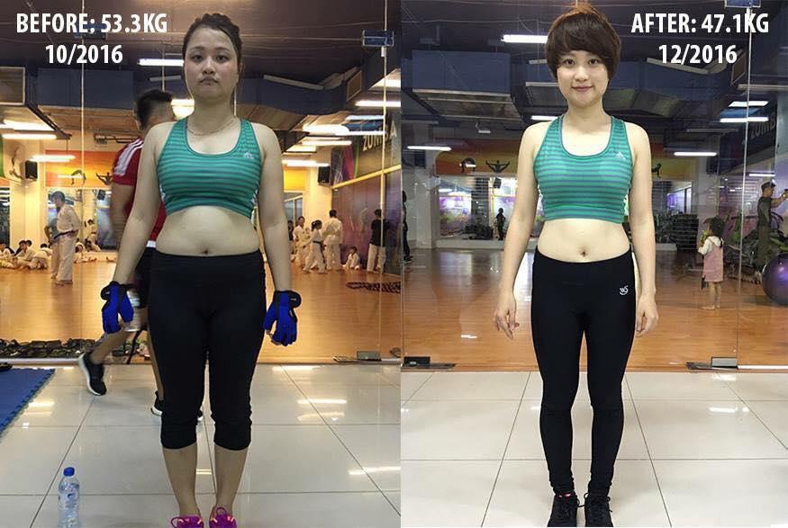Đến phòng tập gym để quên trầm cảm, cô gái Quảng Ninh lột xác đến hàng xóm cũng không nhận ra - Ảnh 1.