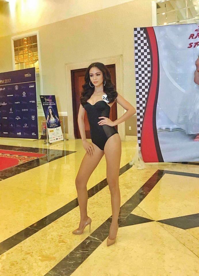 Hoàng Thùy thi bikini tại Hoa hậu Hoàn vũ cũng phải thật nổi bật! - Ảnh 8.