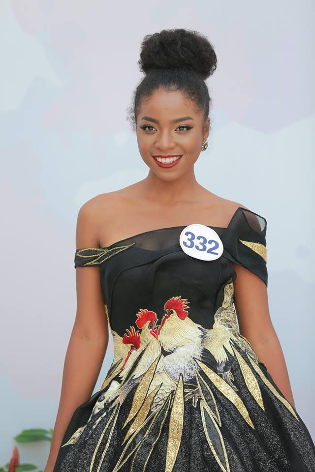 Hoàng Thùy - Mâu Thủy phong cách đối lập trong ngày thi phỏng vấn Hoa hậu Hoàn vũ - Ảnh 5.