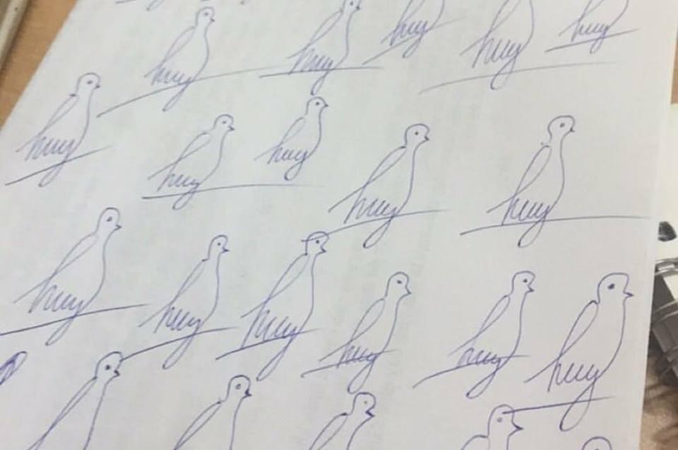 Cư dân mạng liên tục khoe loạt chữ ký độc đáo khiến ai xem cũng chỉ muốn xoắn não - Ảnh 13.