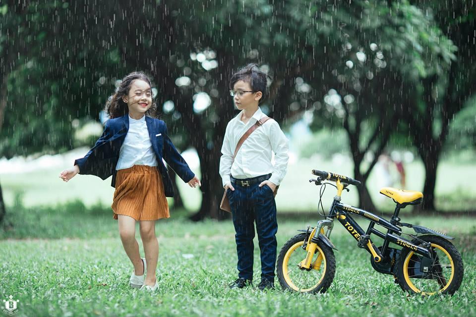 Em gái mưa phiên bản thiên thần nhí được chia sẻ nhiều nhất hôm nay! - Ảnh 9.