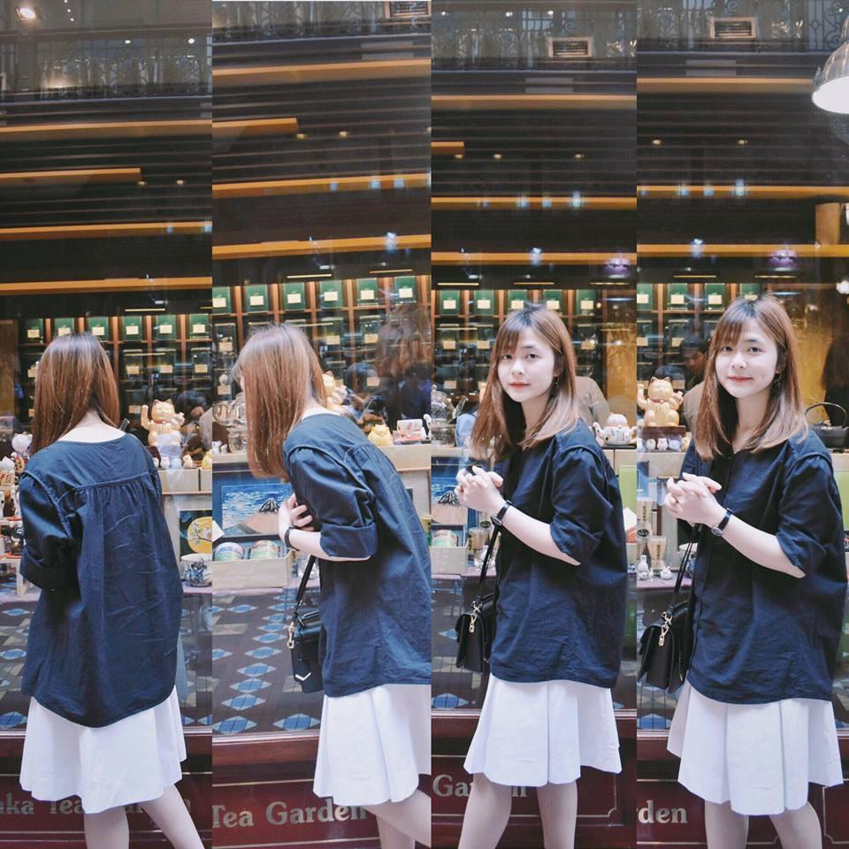Đây là cô bạn du học sinh Việt với nụ cười má lúm đang được tìm khắp Facebook - Ảnh 1.