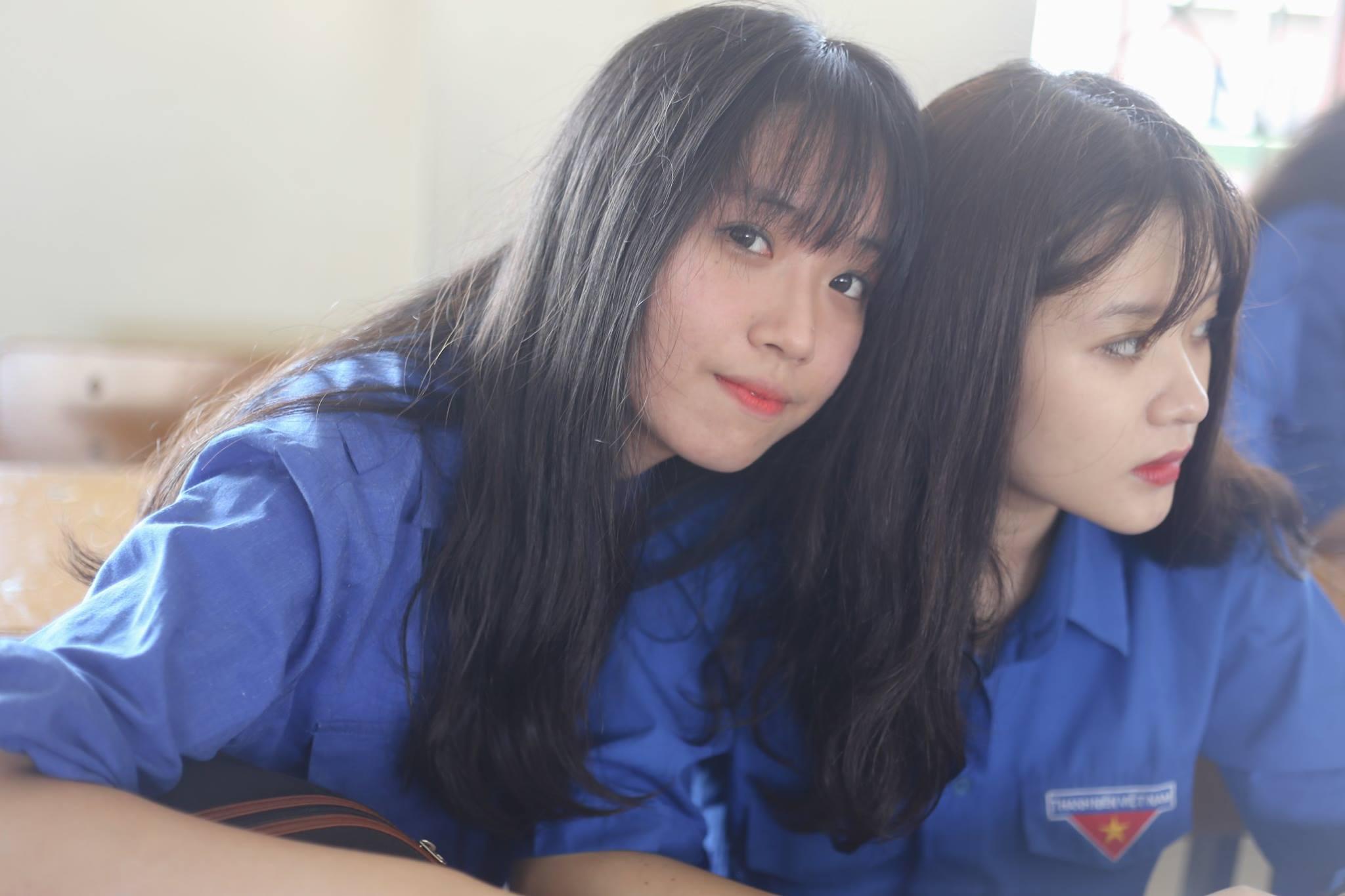 Hoá ra trường chuyên ĐH Vinh (Nghệ An) cũng nhiều con gái xinh ghê! - Ảnh 28.