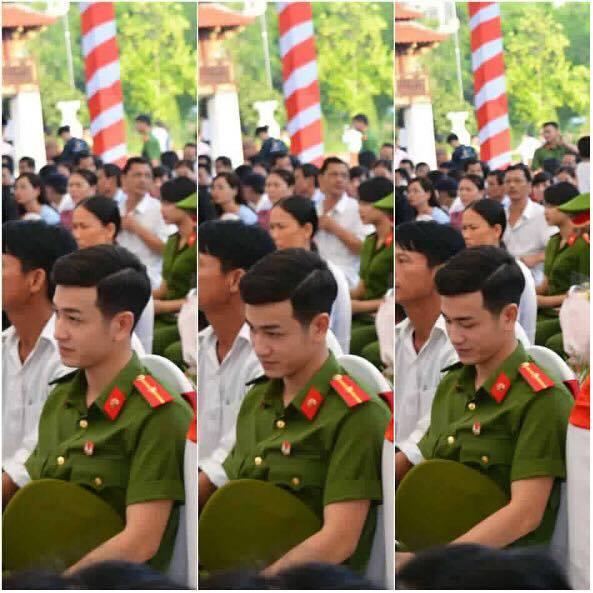 Chàng thiếu úy mới tốt nghiệp Học viện Cảnh sát Nhân dân điển trai như Idol - Ảnh 6.