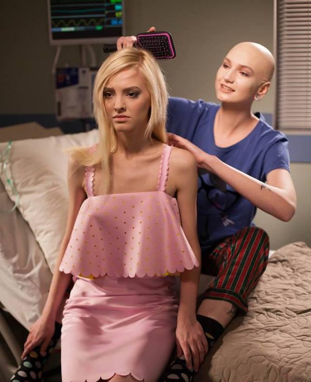 Next Top Ukraine chụp hình về bệnh nhân ung thư nhưng quá ẩu, mất hết cả ý nghĩa tốt đẹp - Ảnh 3.