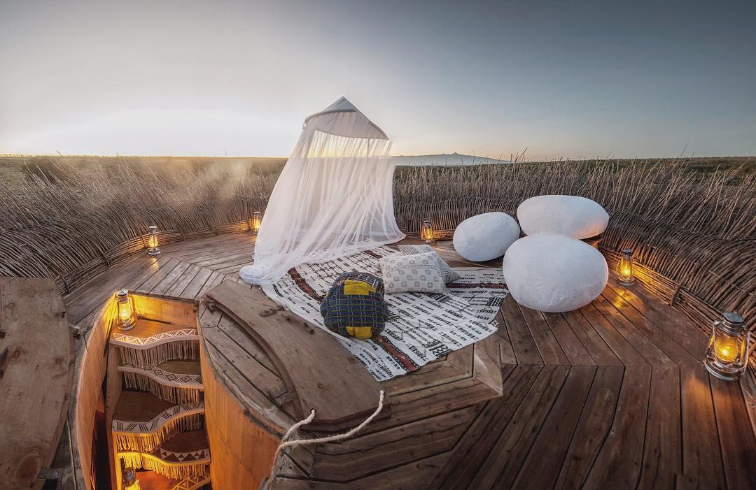 Mục sở thị phòng khách sạn tổ chim 5 sao đầu tiên trên thế giới - Ảnh 17.