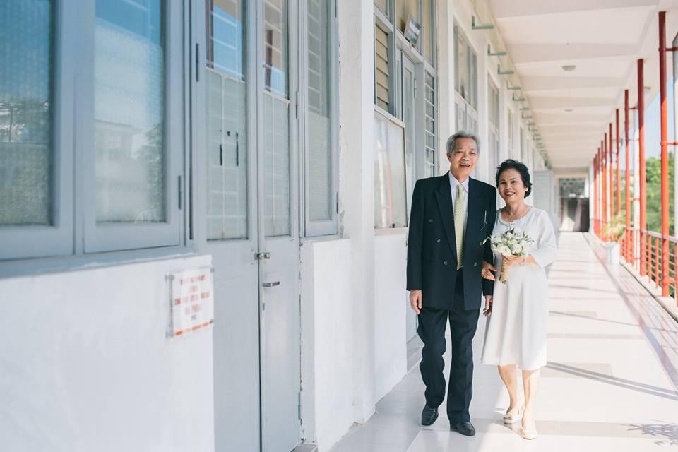 Bộ ảnh cưới đầu tiên sau 45 năm kết hôn và chia sẻ xúc động của cựu CEO Uber Việt Nam cho bố mẹ - Ảnh 9.