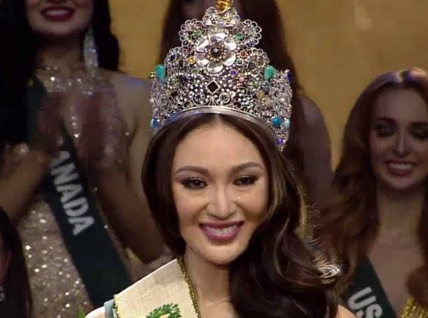 Nhan sắc không thể tin được của Tân Hoa hậu vừa đăng quang Miss Earth 2017 - Ảnh 3.
