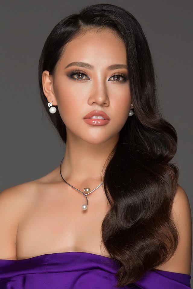 Thí sinh Hoa hậu Hoàn vũ VN lộ mặt mộc nhợt nhạt, kém sắc khi ít son phấn - Ảnh 8.