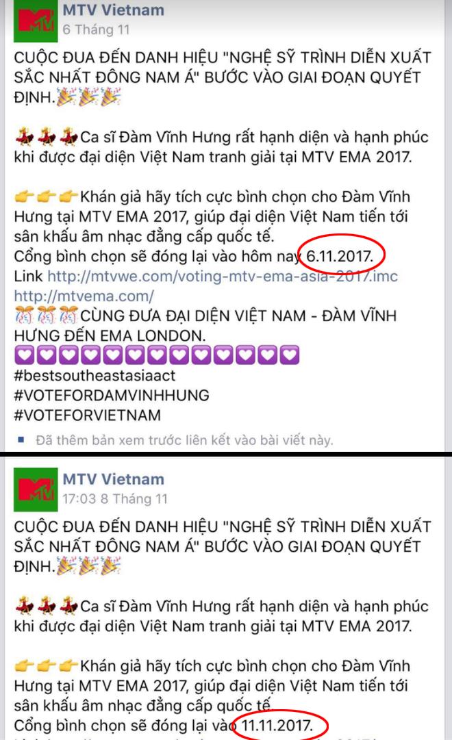 Đàm Vĩnh Hưng chính thức lên tiếng về lùm xùm giải thưởng tại EMA 2017 - Ảnh 3.