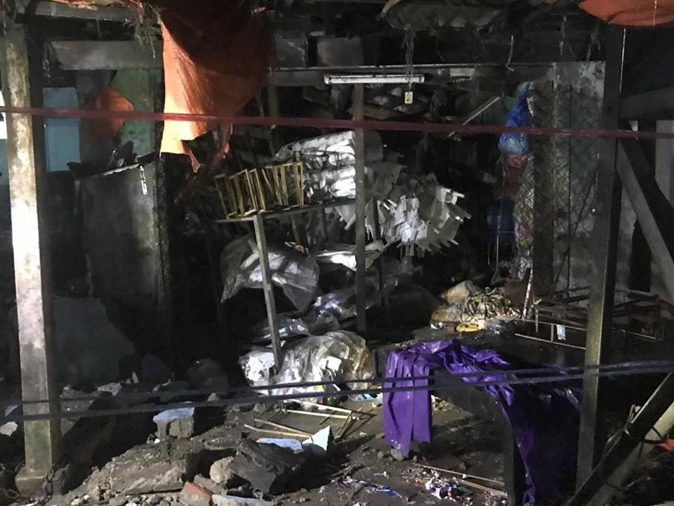 Huế: Sập nhà sau tiếng sét lớn, 3 người trong gia đình bị thương - Ảnh 2.