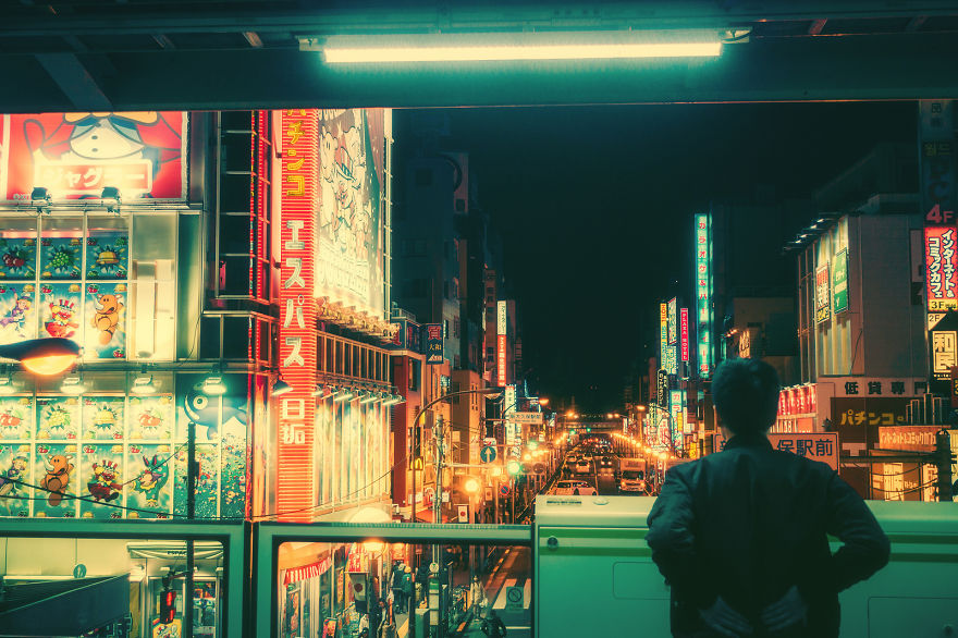 Có một Tokyo lung linh và huyền diệu khi đêm về - Ảnh 9.