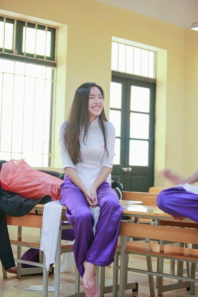 Hình ảnh mũm mĩm, ngố tàu của hot girl Việt thời còn là học sinh cấp 3 - Ảnh 12.
