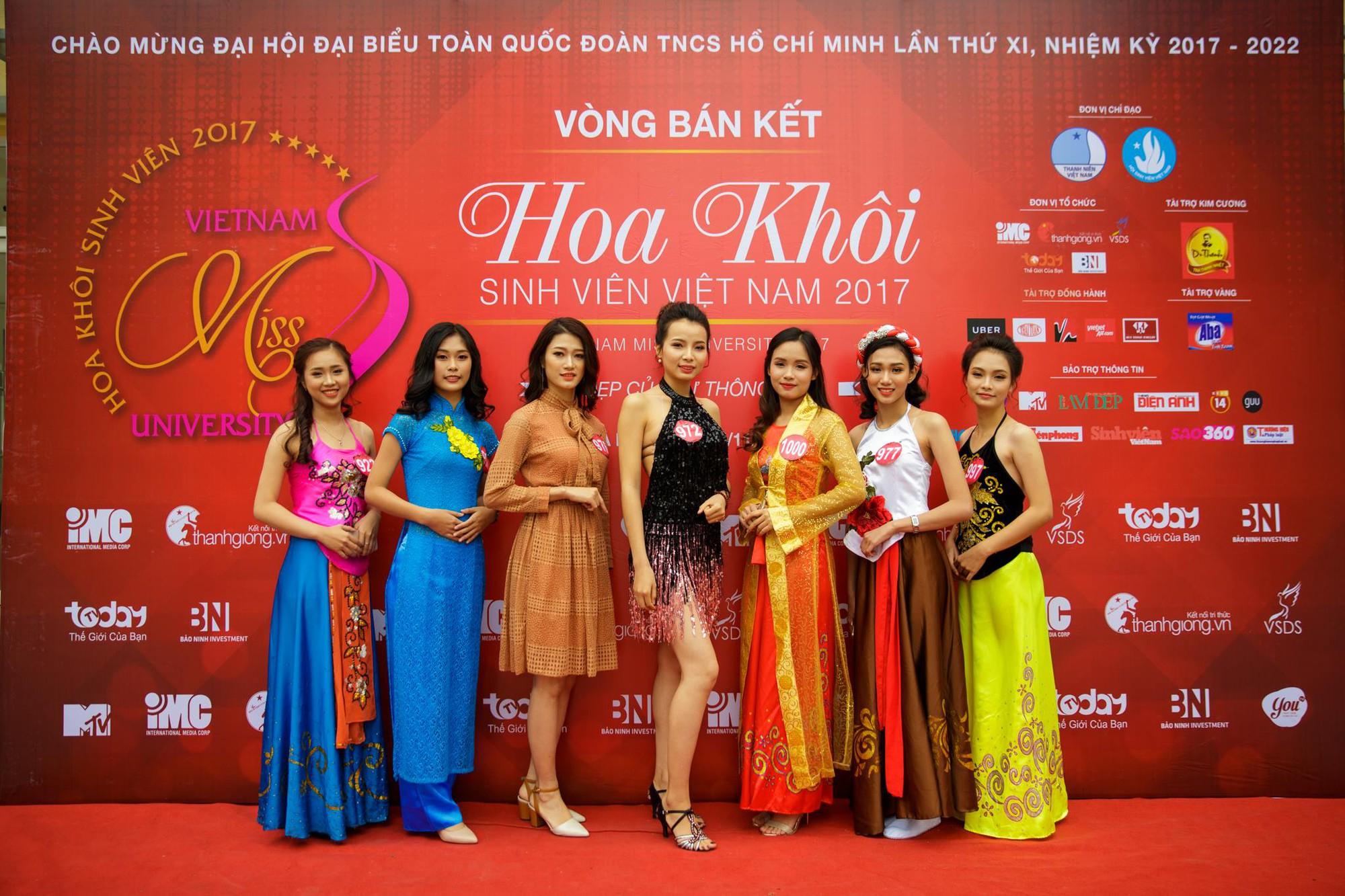 15 gương mặt đầu tiên xuất hiện trong vòng Chung kết Hoa khôi Sinh viên Việt Nam 2017 đã lộ diện - Ảnh 1.