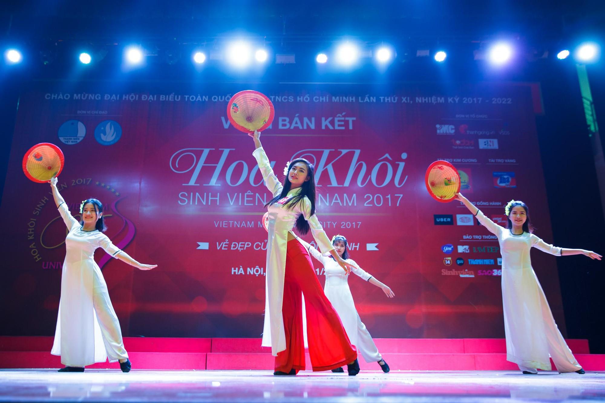 15 gương mặt đầu tiên xuất hiện trong vòng Chung kết Hoa khôi Sinh viên Việt Nam 2017 đã lộ diện - Ảnh 4.