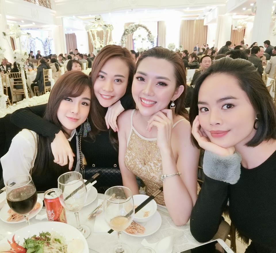 Bạn gái Cường Đô La, Diệp Lâm Anh rạng rỡ đến chúc mừng đám cưới của stylist Pông Chuẩn - Ảnh 2.