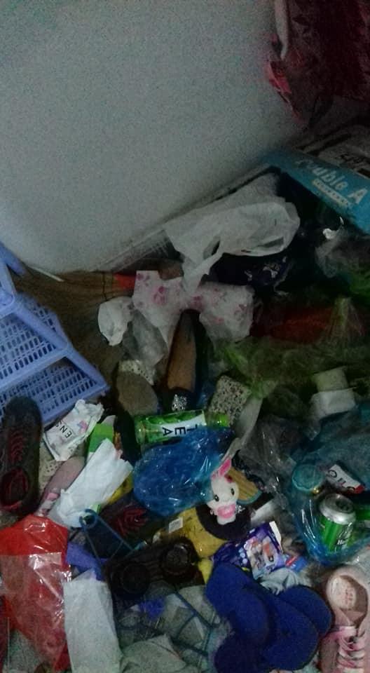 Cô gái đóng cửa nhốt mình trong phòng trọ 5 tháng liền, ở bẩn tới mức gạt rác ra mới thấy sàn nhà - Ảnh 3.