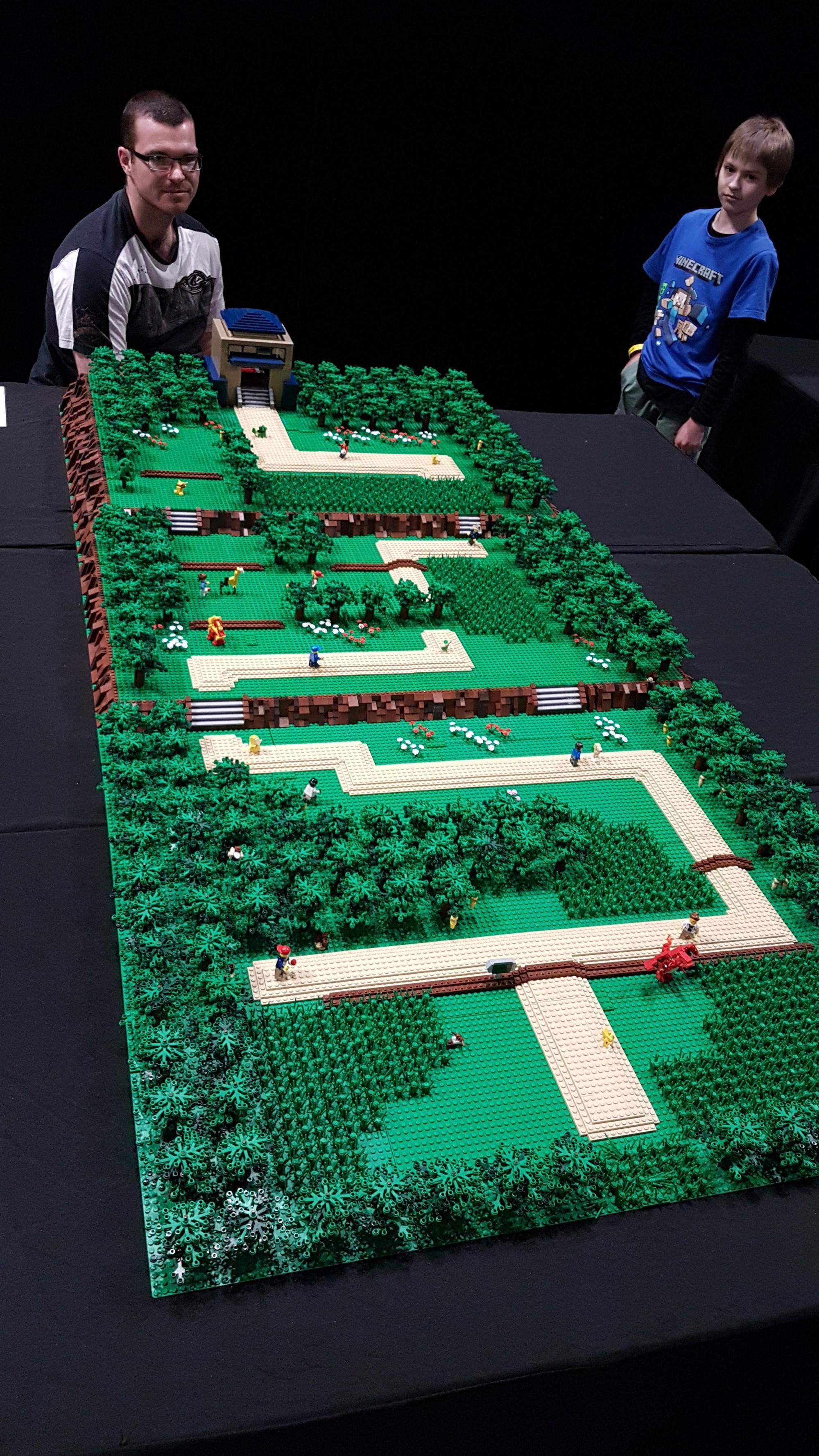 Ngắm 15 công trình LEGO tỉ mỉ khiến cả người không chơi cũng mê tít - Ảnh 1.