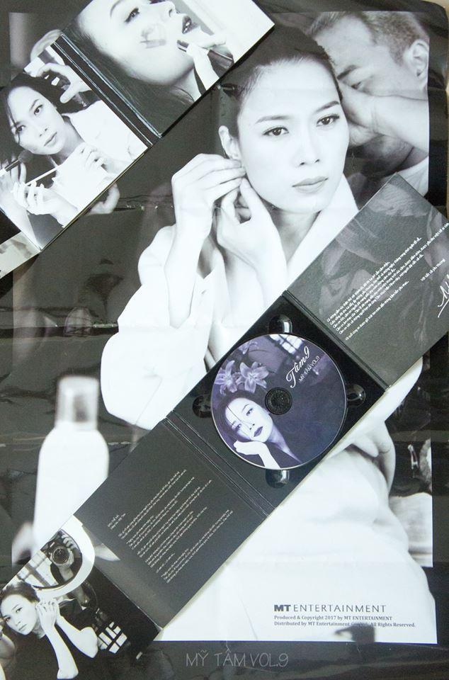 Cầm album Mỹ Tâm vol 9 trên tay: Niềm tự hào với cả gia tài album truyền thống cất trên giá sách - Ảnh 5.