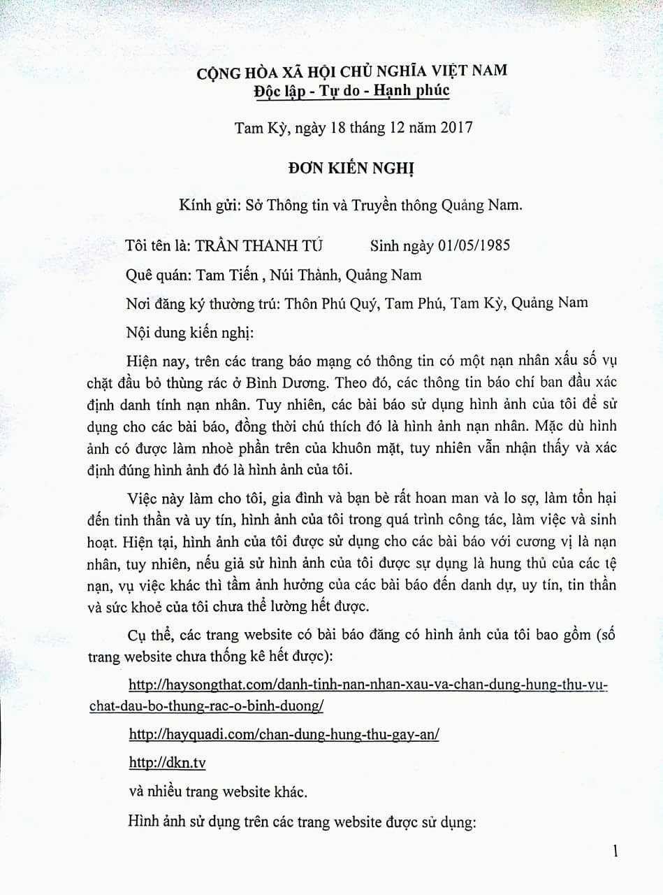 Người đàn ông ở Quảng Nam hoang mang vì bị nhầm thành người chồng trong vụ giết người phân xác ở Bình Dương - Ảnh 3.