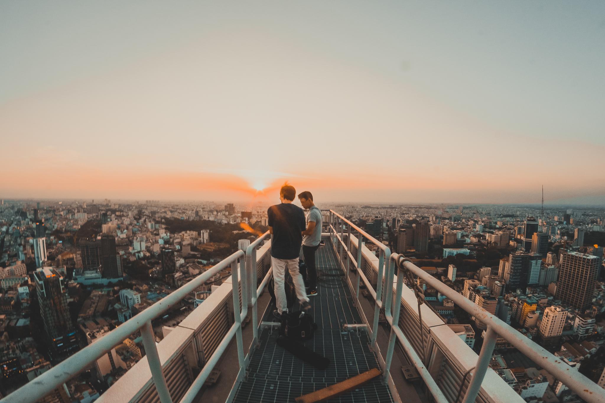 9x với loạt ảnh chụp từ trên cao khiến bạn ngỡ ngàng vì vẻ đẹp choáng ngợp của Sài Gòn - Ảnh 3.