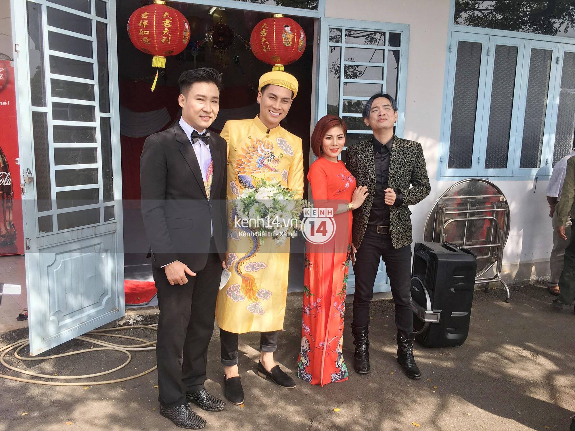 Loạt ảnh cận cảnh cô dâu Lâm Khánh Chi diện áo dài long phụng quét đất về nhà chồng - Ảnh 8.