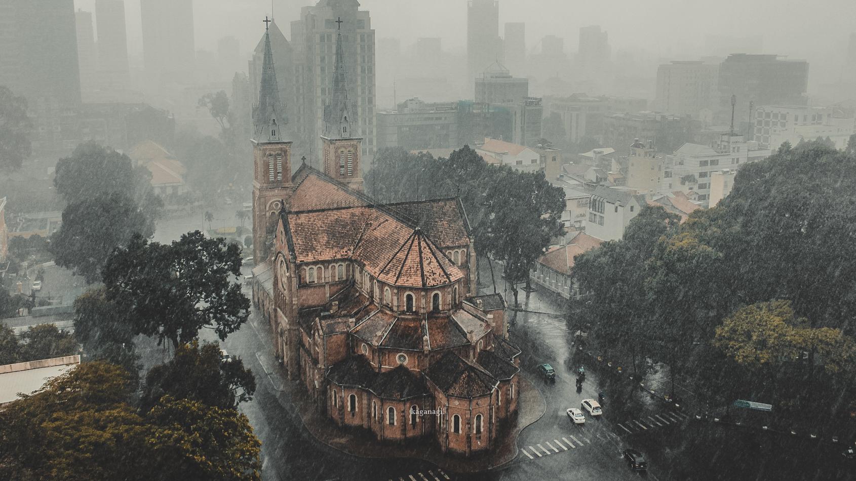 9x với loạt ảnh chụp từ trên cao khiến bạn ngỡ ngàng vì vẻ đẹp choáng ngợp của Sài Gòn - Ảnh 4.