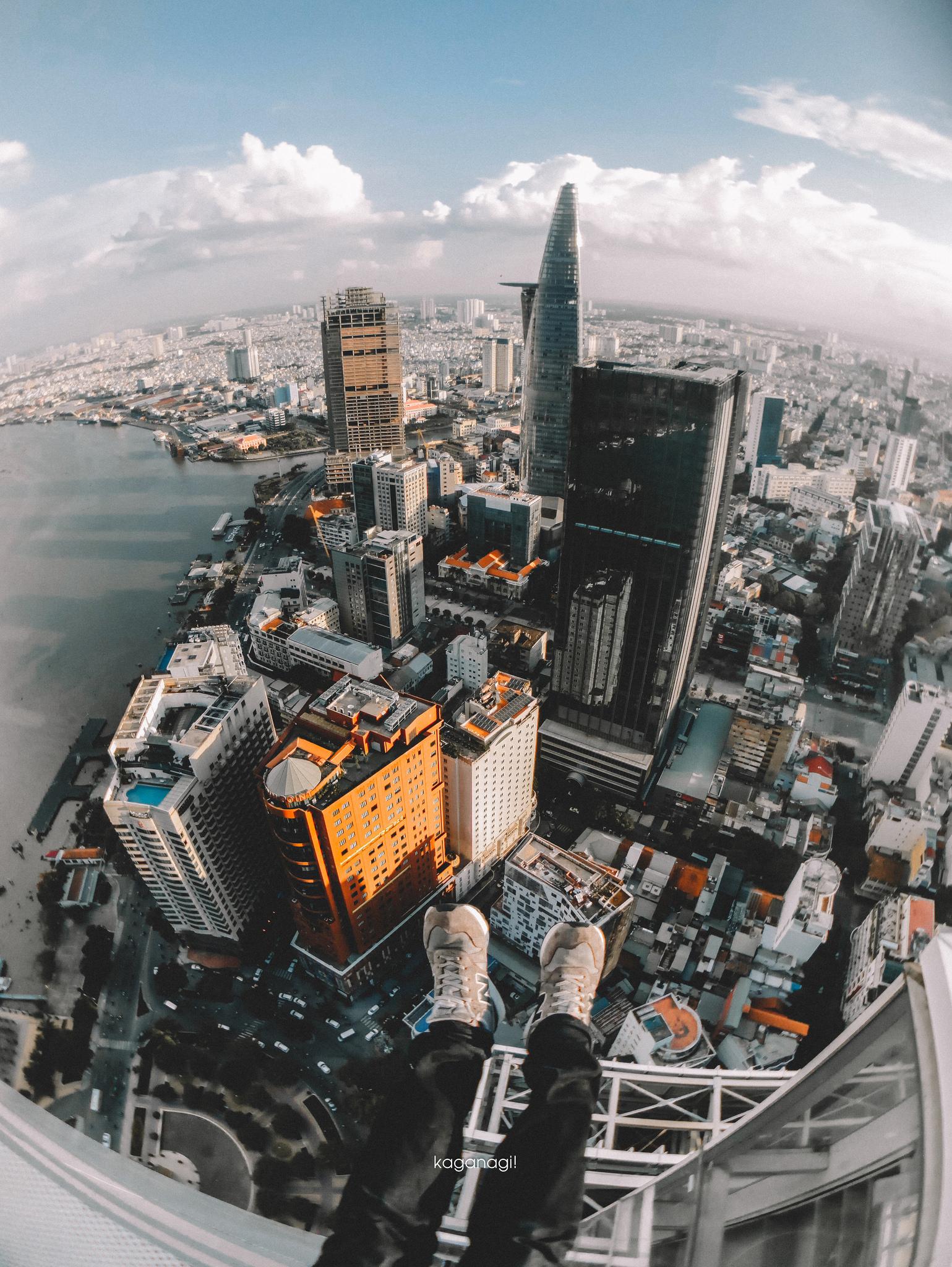 9x với loạt ảnh chụp từ trên cao khiến bạn ngỡ ngàng vì vẻ đẹp choáng ngợp của Sài Gòn - Ảnh 5.