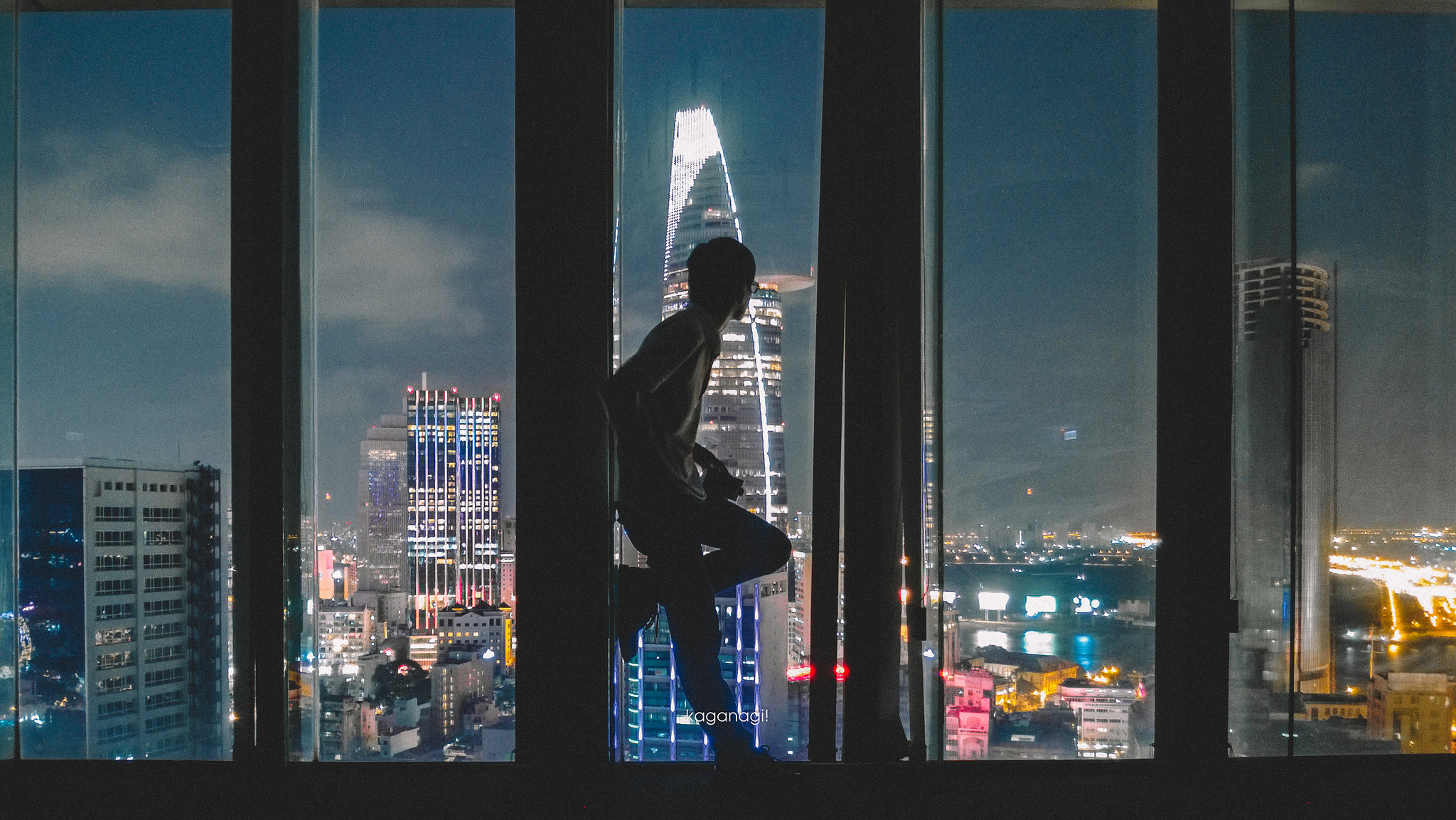 9x với loạt ảnh chụp từ trên cao khiến bạn ngỡ ngàng vì vẻ đẹp choáng ngợp của Sài Gòn - Ảnh 8.