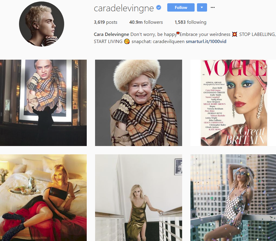 Bảng xếp hạng làng thời trang trên Instagram năm 2017: siêu mẫu Kendall Jenner xưng hậu, nhà mốt Chanel xưng vương - Ảnh 4.