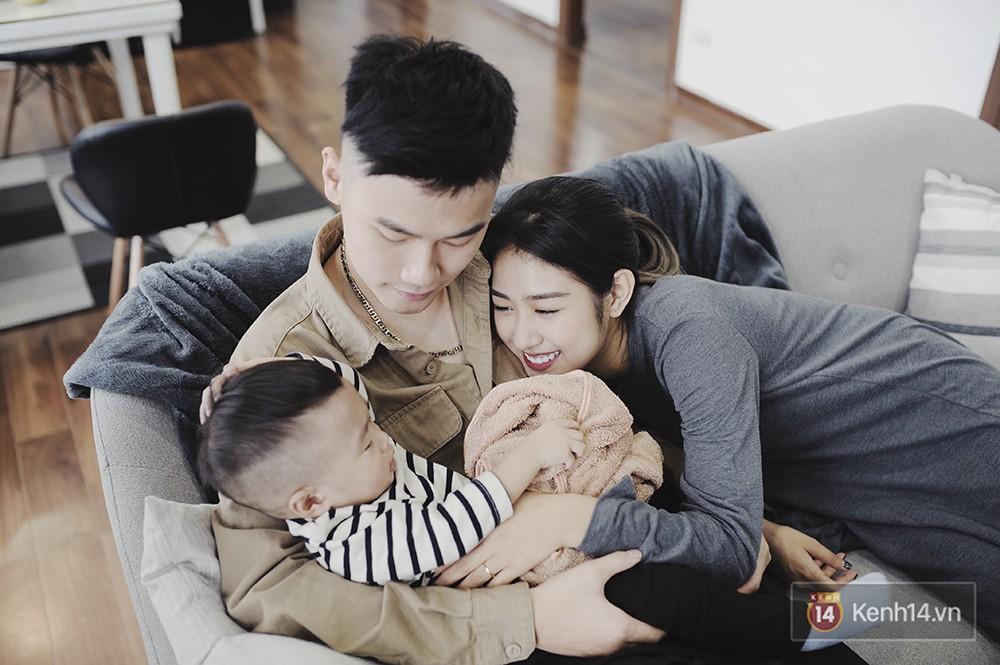 Gia đình trong mơ Trang Lou - Tùng Sơn: Có con là điều khó khăn nhất nhưng cũng hạnh phúc nhất! - Ảnh 14.