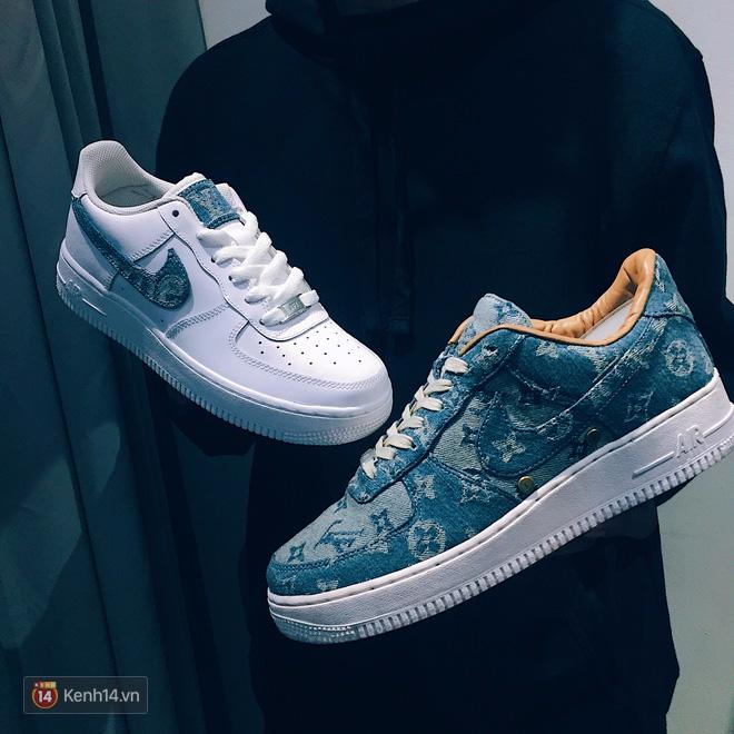 9x Việt độ giày từ đồ Louis Vuitton x Supreme hàng chục triệu đồng đang khiến giới chơi sneakers phát sốt - Ảnh 7.
