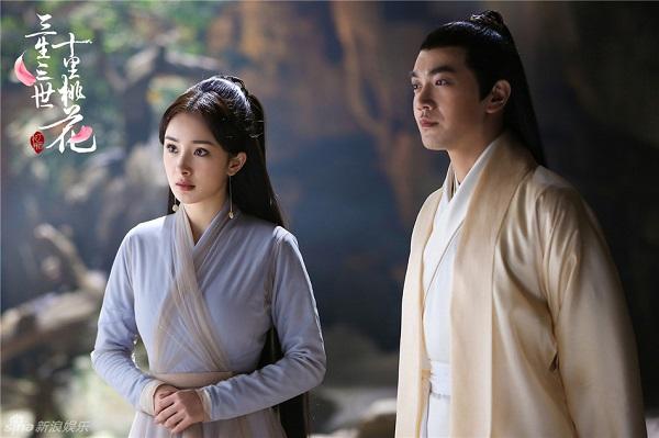 Tố Tố cô đơn trong Tẩy Ngô cung của Dạ Hoa phim Tam sinh tam thế thập lý đào hoa