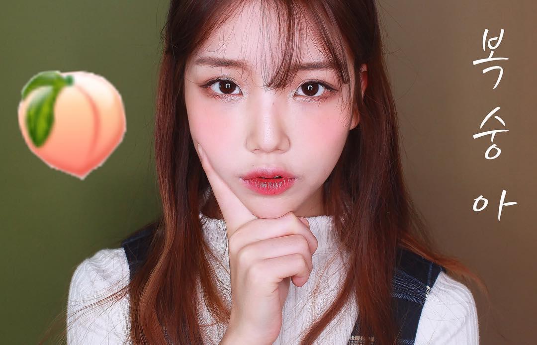 Makeup với màu đào - Xu hướng làm đẹp hot số 1 đang khiến con gái Hàn mê tít - Ảnh 3.