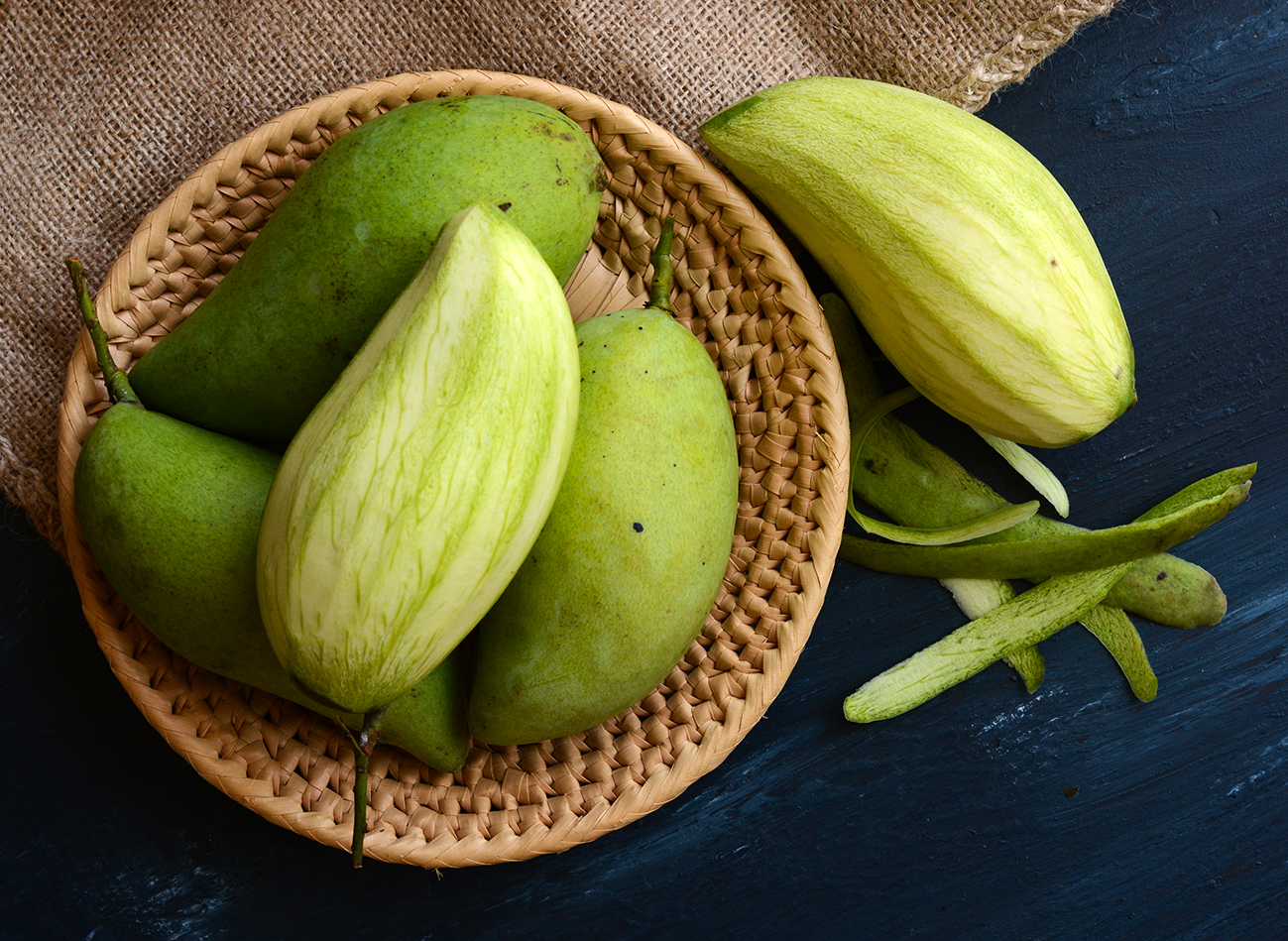 Tin vui cho ai thích ăn xoài xanh: ăn xoài xanh cực tốt cho sức khoẻ