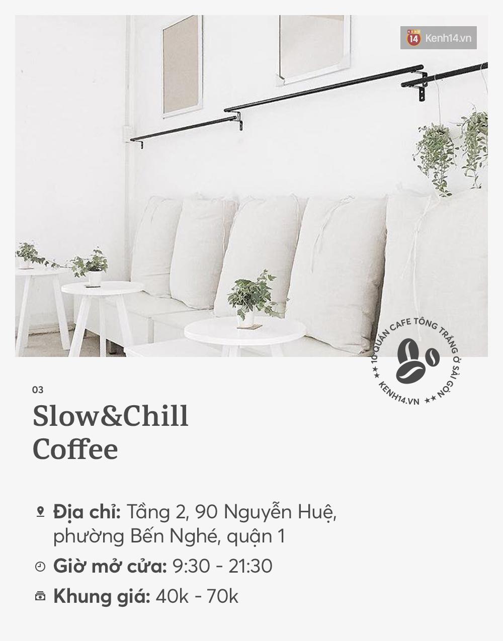 10 quán cà phê tông trắng ở Sài Gòn, cứ đến là có ảnh đẹp! - Ảnh 5.