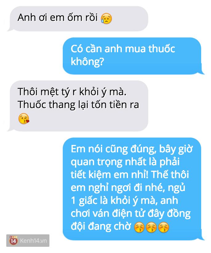 Trời nóng dễ ốm nhắn tin than thở với người yêu mà lại bị troll đau đớn như này đây! - Ảnh 9.