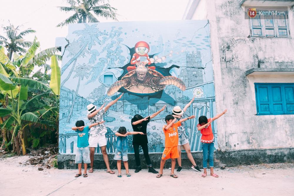 Lý Sơn đâu chỉ có biển đẹp, Lý Sơn giờ có cả một làng bích họa mới toanh cho bạn tha hồ chụp ảnh - Ảnh 3.