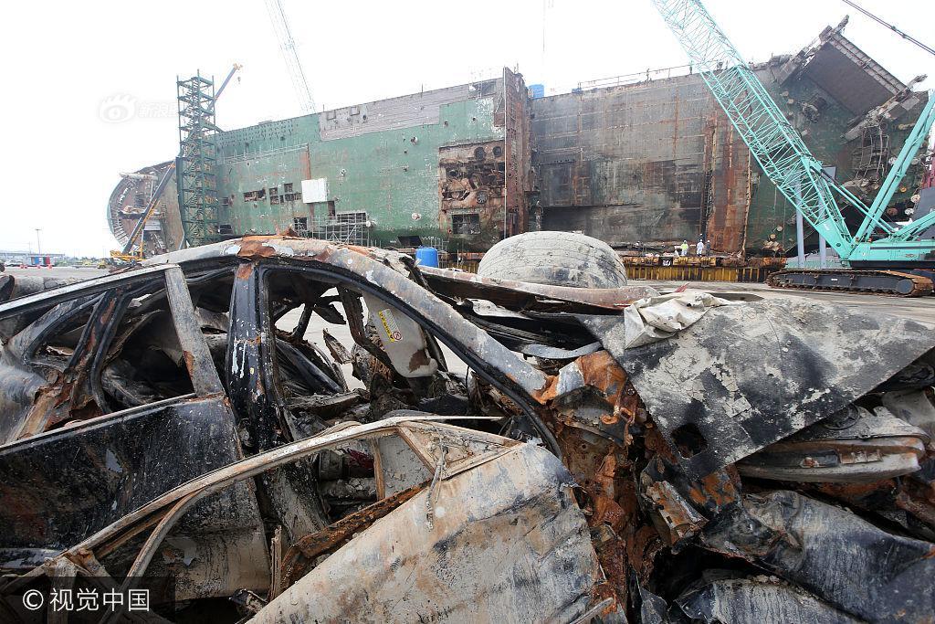 Hình ảnh hơn 100 ô tô biến thành đống sắt gỉ sau 3 năm nằm dưới đáy biển cùng phà Sewol khiến nhiều người rùng mình - Ảnh 6.