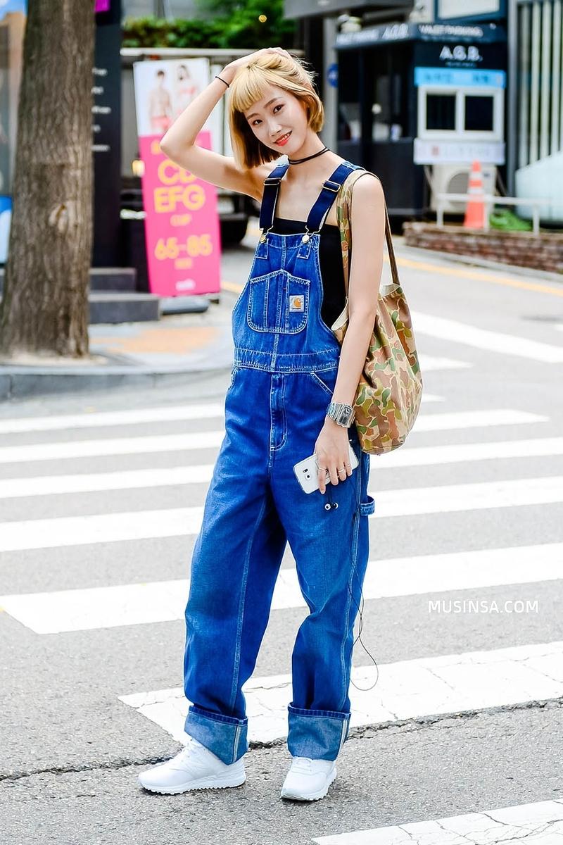 Giới trẻ Hàn sẽ khiến bạn xuýt xoa với street style chất mà chẳng cần phải cố đơn giản nhưng hút mắt quá đỗi - Ảnh 3.