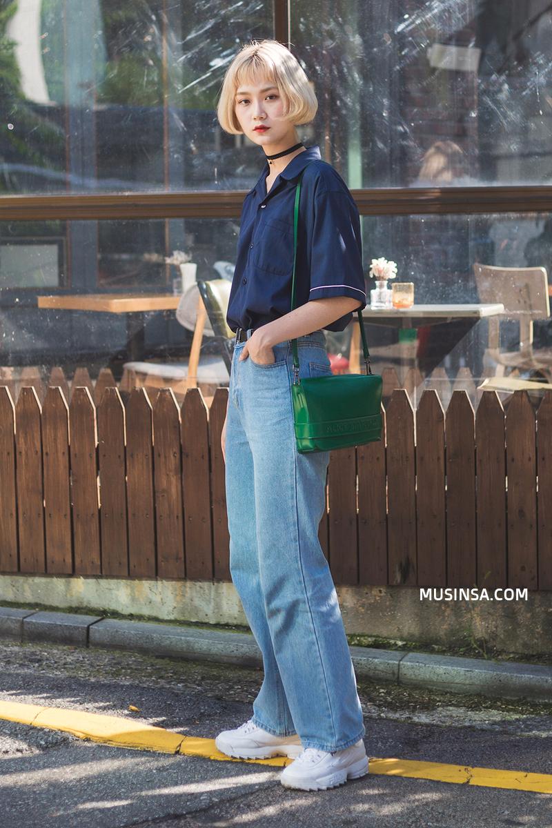 Nhìn giới trẻ Hàn ồ ạt diện sweatshirt, bạn sẽ mong trời chuyển mát thật nhanh để còn được tái ngộ item siêu cool này - Ảnh 7.