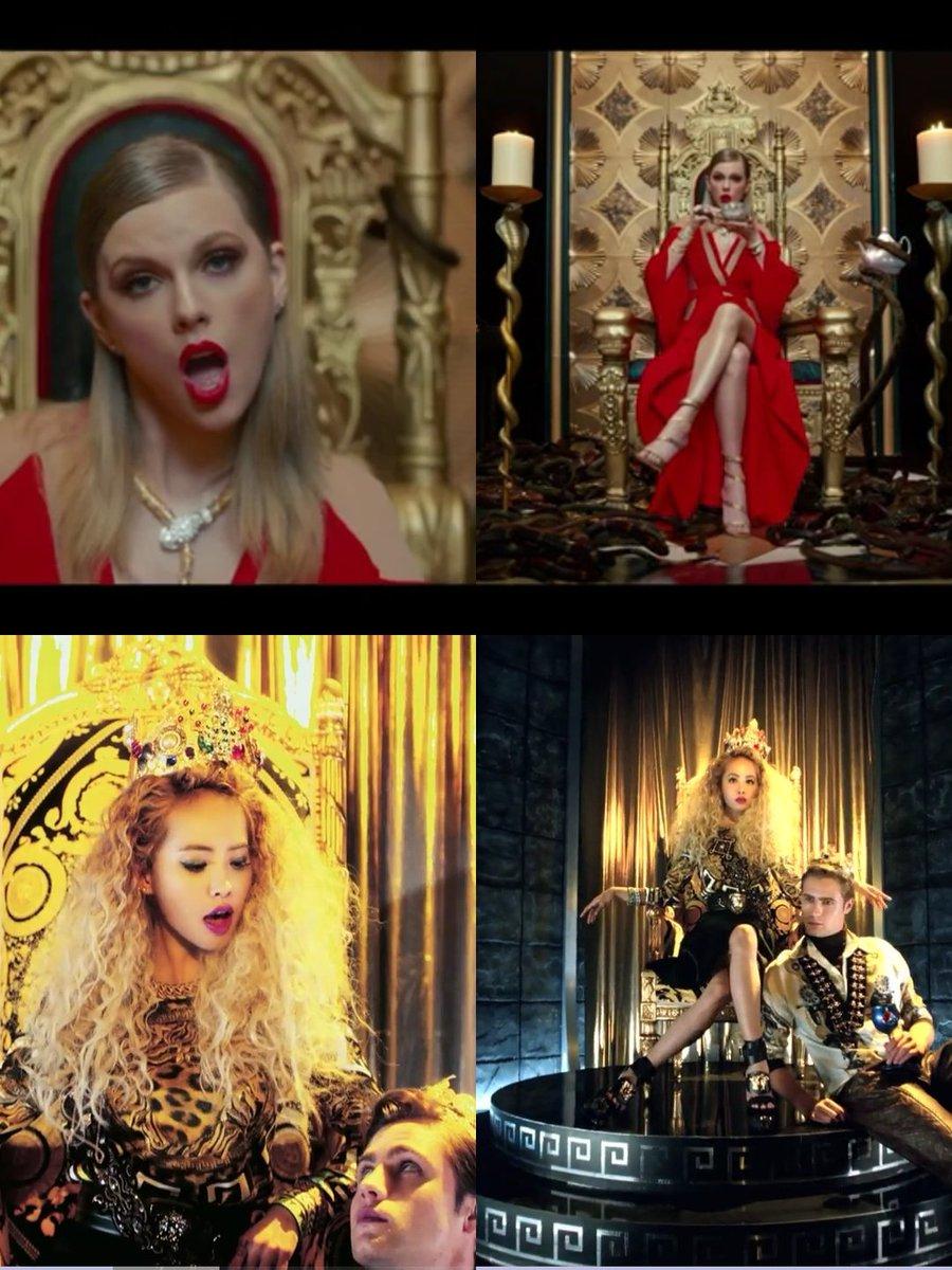 LWYMMD của Taylor Swift bị tố đạo MV của Nữ hoàng vũ đạo Cpop Thái Y Lâm - Ảnh 10.